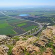 Views of the Jezreel Valley from the heights of Mo...
