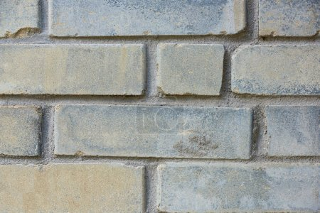 Photo for Close-up view of old weathered brick wall texture - Royalty Free Image