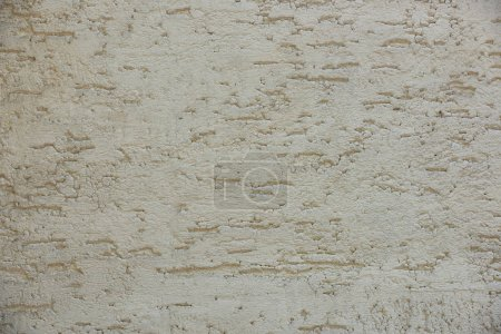 close-up view of grey weathered concrete wall texture