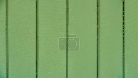 green wooden planks texture, full frame background