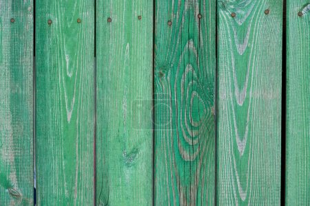 old green wooden planks textured background