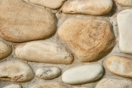close-up view of grunge stone wall texture, full frame background