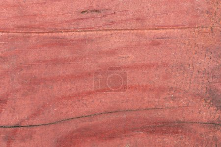 close-up view of old red wooden textured background