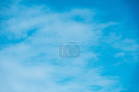 Photo for Beautiful light blue sky with clouds - Royalty Free Image