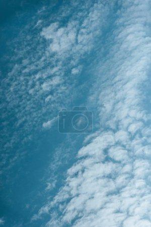 beautiful cloudy light blue sky