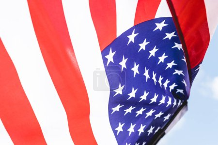 stars and stripes on national american flag