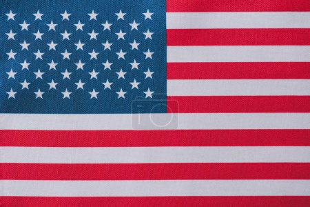 Photo pour United states of america national flag, memorial day concept - image libre de droit