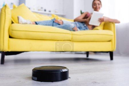 Selective focus of robotic vacuum cleaner