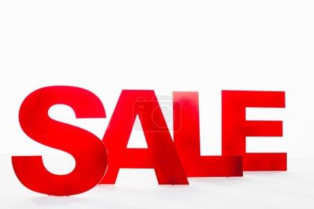Rot, weiß, niemand, Einkaufen, Einzelhandel, Verkauf - B414474702