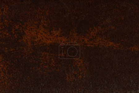 dark brown aged rusty metal textured background