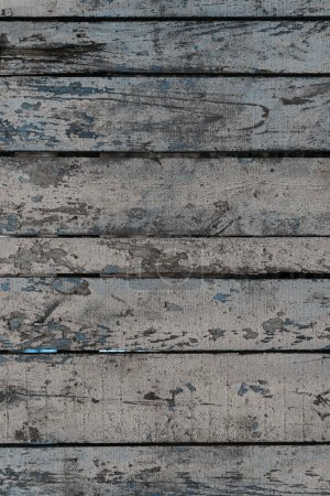 close-up view of old grunge weathered wooden planks texture