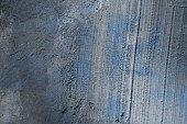 old rough grey and blue concrete wall texture