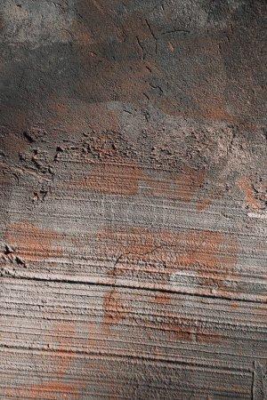 texture de mur vieux rugueuses ciment gris et brun