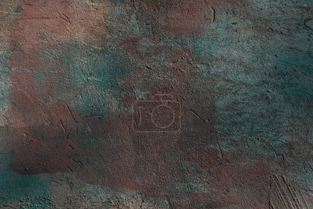 Photo for Close-up view of dark grunge wall textured background, full frame view - Royalty Free Image