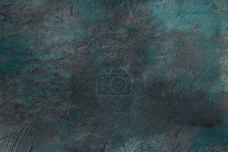 Photo for Close-up view of dark rough wall textured background - Royalty Free Image