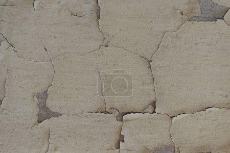 vue rapprochée du vieux gris tanné texture de mur