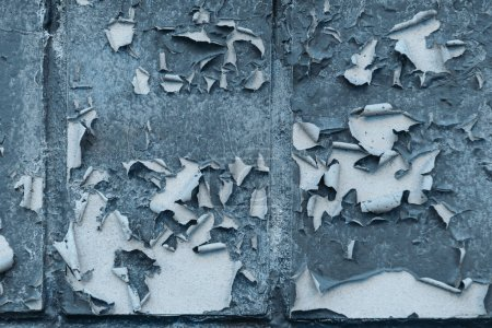 close-up view of old weathered grey wall textured background