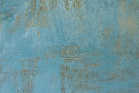 old weathered grey and blue concrete background