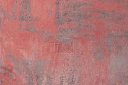 full frame of old weathered grey and red concrete background