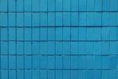 "Постер, картина, фотообои ""Синяя стена с старого кирпича, полный кадр фон"""