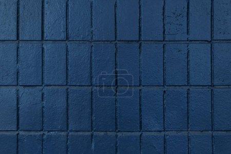 Photo pour Mur noir avec de vieilles briques, fond plein cadre - image libre de droit