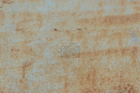 old scratched rusty grey metal background