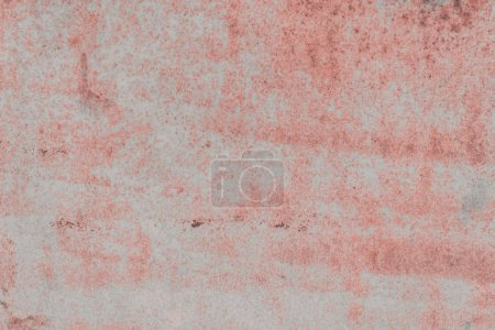 old grey and red weathered concrete background