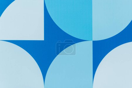 abstract blue and grey geometric background