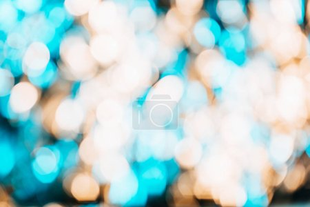 Foto de Fondo abstracto desenfocado con hermosas luces bokeh brillantes - Imagen libre de derechos