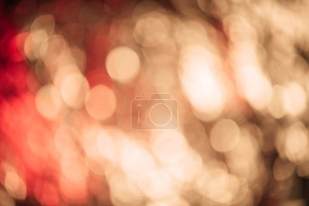 full frame view of beautiful defocused abstract bokeh background