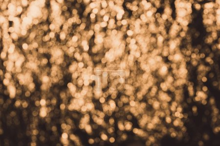 beautiful defocused golden bokeh lights, abstract background