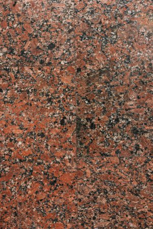 top view of brown textured marble background