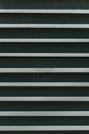 Photo for Close-up view of detail textured metal fence background - Royalty Free Image