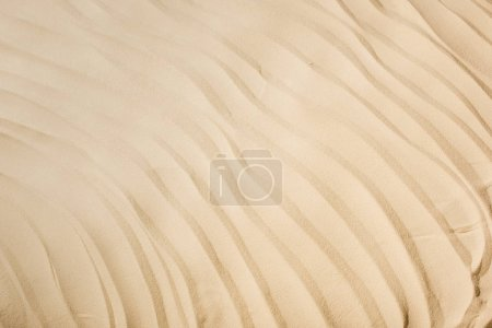 Photo pour Top view of background with textured sand and copy space - image libre de droit