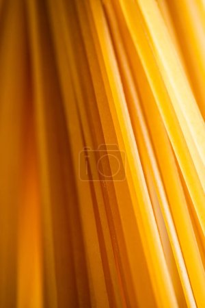 Photo for Close up view of uncooked Italian spaghetti - Royalty Free Image