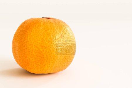 Photo pour Mandarine isolé sur fond blanc illustration 3d - image libre de droit
