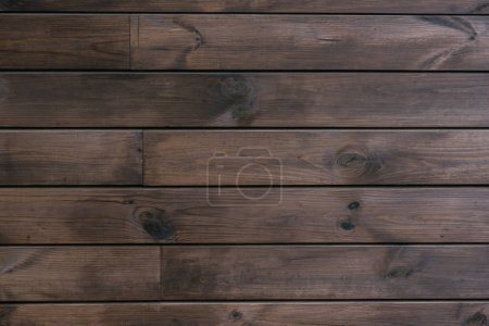 Photo for Full frame image of wooden wall background - Royalty Free Image