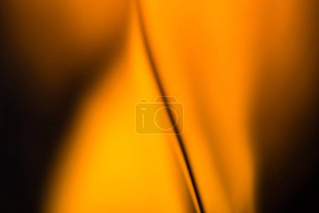orange texture of crystal glass with whiskey
