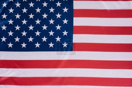 Photo pour Gros plan du drapeau des États-Unis, le concept de fête de l'indépendance - image libre de droit