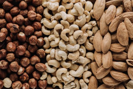 Photo for Assorted delicious nuts in full screen - Royalty Free Image