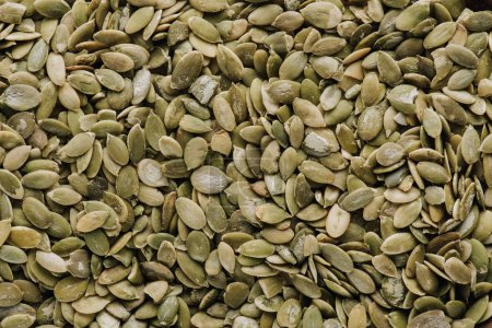 Photo for Top view of pumpkin seeds in full screen - Royalty Free Image