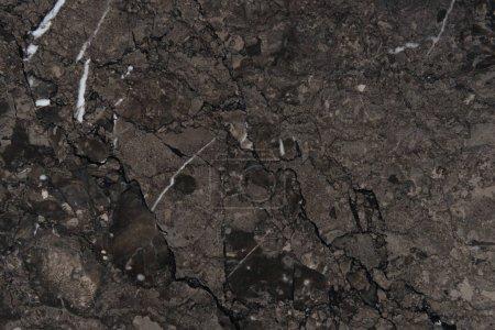 texture Marbre foncé abstraite à vide