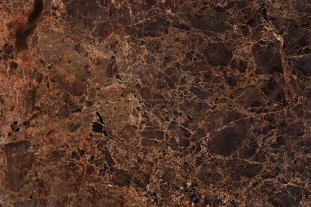 Photo for Abstract brown marble material background - Royalty Free Image