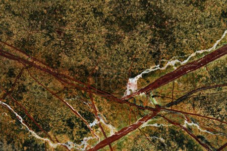 elegant green marble texture with natural red pattern
