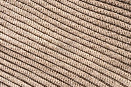 plein cadre de tissu de laine beige avec impression de fond