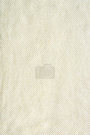full frame of white woolen fabric background