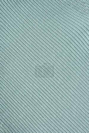 Photo for Close up view of grey woolen fabric as background - Royalty Free Image