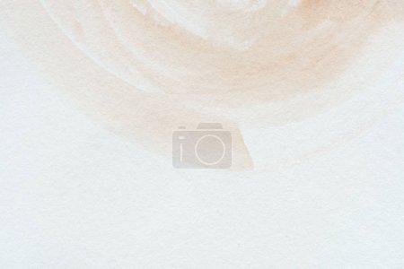 Photo pour Gros plan de fond abstrait aquarelle brune - image libre de droit