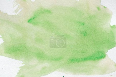 abstract green creative watercolor background