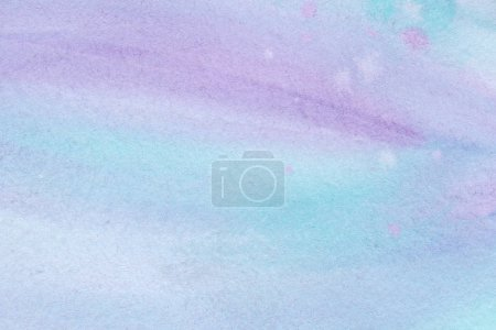 abstract violet and blue watercolor background